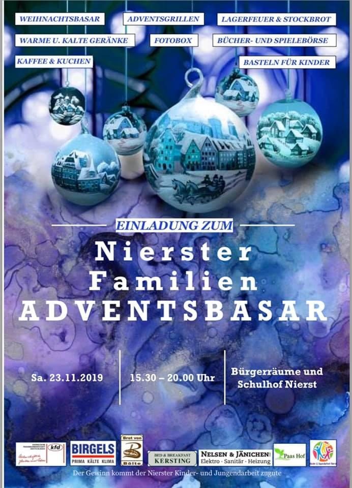 Flyer Adventsbasar 2019 (c) Adventsbasar-Team
